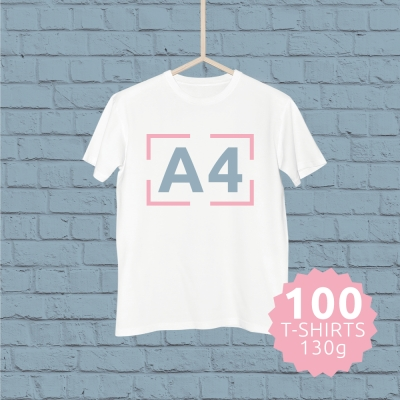 Packs T-shirt com estampagem personalizada