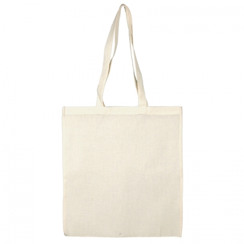Pano cru Saco Tote Bag 130gr Natural