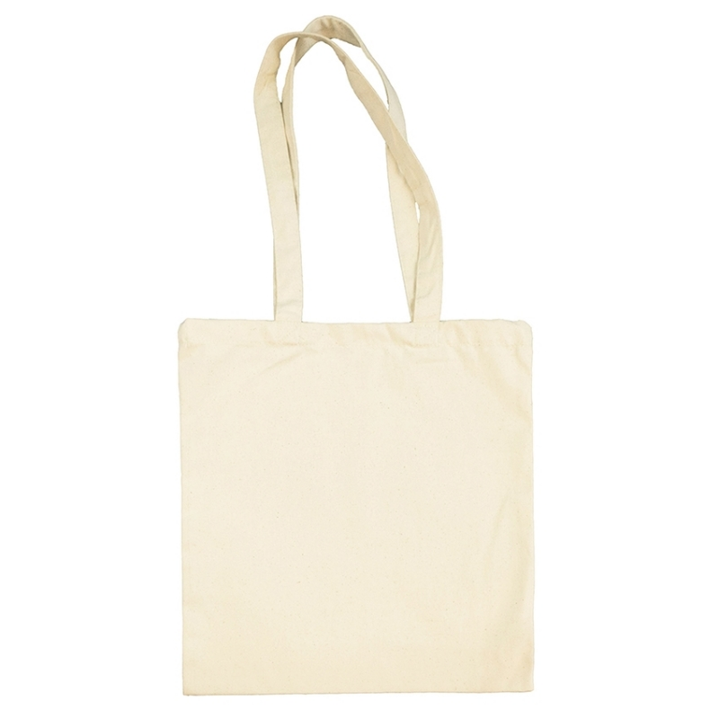 Pano cru Saco Tote Bag 340gr Natural
